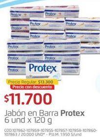 Oferta de Jabón de tocador Protex por $11700