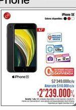 Oferta de IPhone SE 4,7'' por $2239000