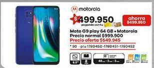 Oferta de Celular libre Motorola por $549945
