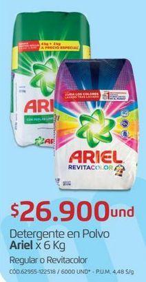 Oferta de Detergente en polvo Ariel por $26900