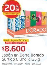 Oferta de Jabón de tocador Dorado por $8600