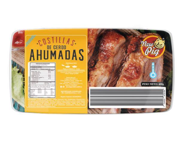 Oferta de Carne de Cerdo Costilla  Ahumada 400 g por $9680