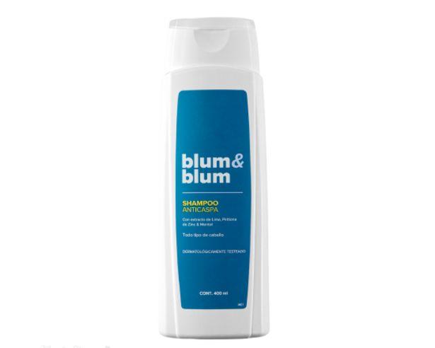 Oferta de Shampoo Anticaspa Blum & Blum 400 ml por $6990