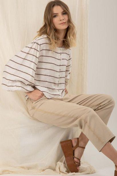 Oferta de Camisa manga larga rayas por $94950