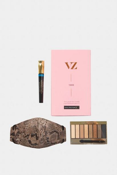Oferta de Tapabocas de cuero antifluidos con filtro + kit de maquillaje por $79950