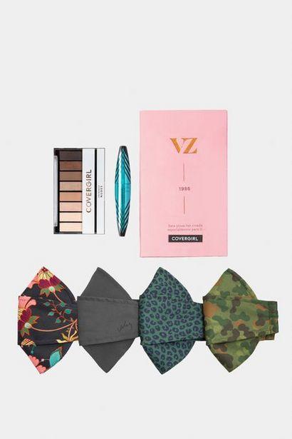 Oferta de Kit de maquillaje + tapabocas de tela por $59950