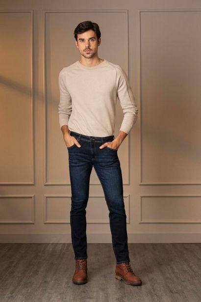 Oferta de Jeans semifitted oscuro por $139950