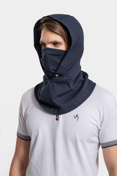 Oferta de Capucha tapabocas de tela con filtro por $39950