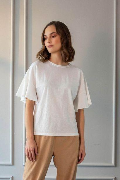 Oferta de Camiseta manga corta tejido de punto para mujer boleros por $64950