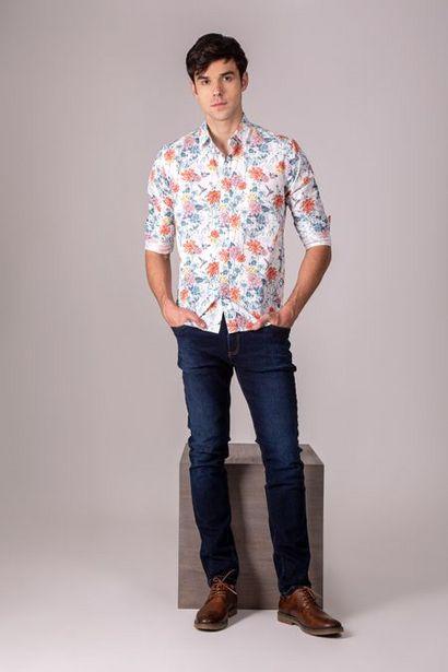 Oferta de Jeans semifitted denim bigotes 3D por $104950