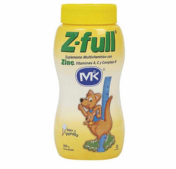 Oferta de Z-Full Granulado Vainilla MK x 300 g por $40900