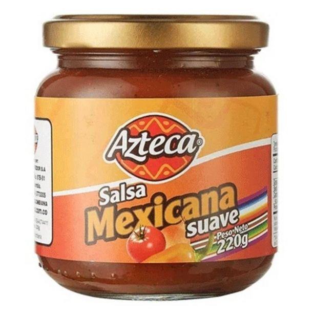 Oferta de Salsa Mexicana Suave Azteca x 220 g por $8200