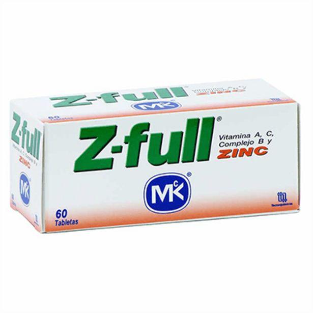 Oferta de Z-Full MK Tableta x 60 unds por $50500