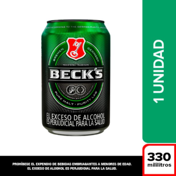 Oferta de Cerveza Becks x 330 ml por $2400