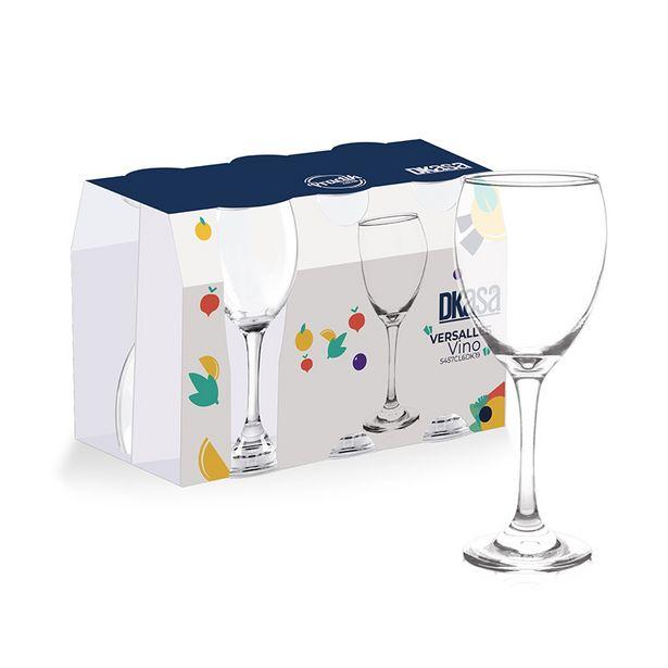 Oferta de Set de Copas de Vino Versalles Tropicals x 6 unds por $19450