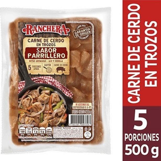 Oferta de Carne de Cerdo en Trozos Sabor Parrillero x 500 g por $13400