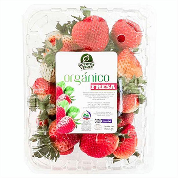 Oferta de Fresa Orgánica Estuche x 500 g por $8500