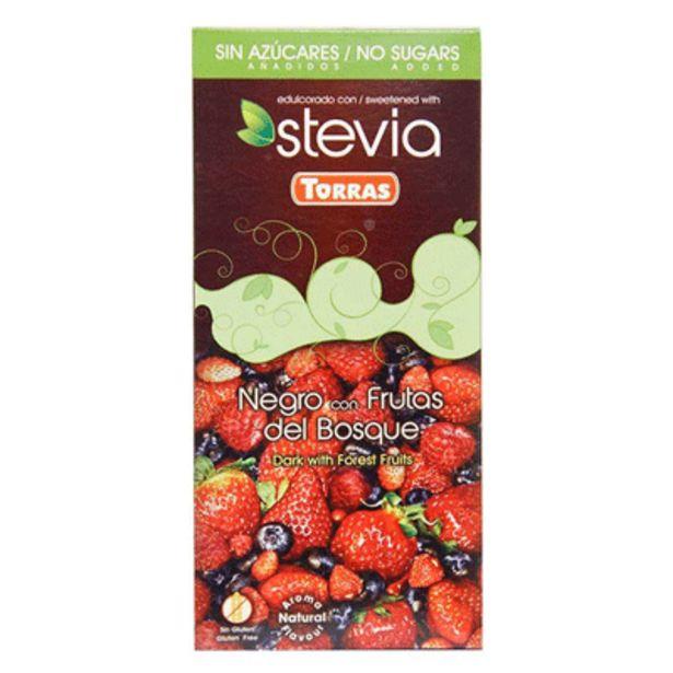 Oferta de Chocolate Negro con Frutas Del Bosque Torras x 125 g por $14300