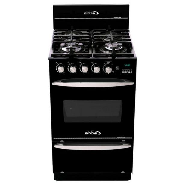 Oferta de Estufa de piso Abba 4 Ptos Torre Negra Gratinador Master Chef AG 203-6N por $1239000