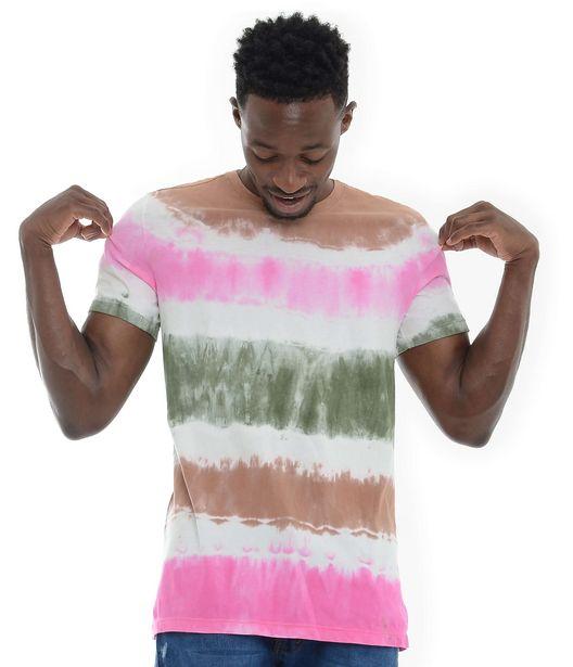 Oferta de Camiseta Tie Dye hombre por $35000