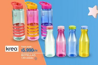 Oferta de Botella de agua Krea por $5990
