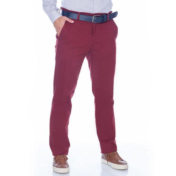 Oferta de Pantalon Hombre Dril Vinotinto por $54900