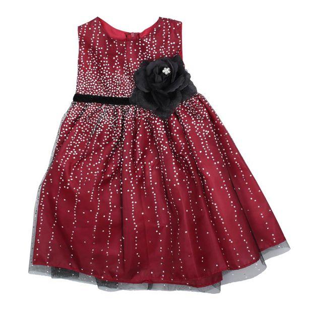 Oferta de Vestido Elegante Con Flor por $109900
