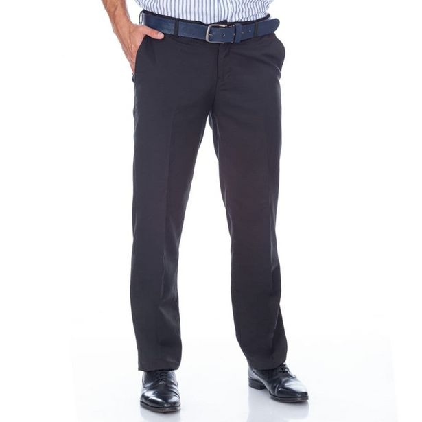 Oferta de Pantalon Hombre Negro Formal por $69900