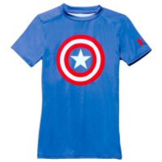 Oferta de Camiseta Under Armour Alter Ego Capitan America Niño por $74425
