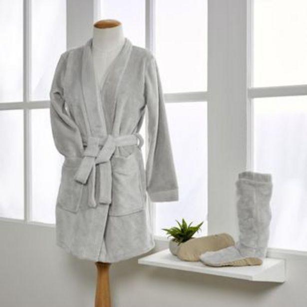 Oferta de Levantadora + calentadoras flannel gris violeta por $89900