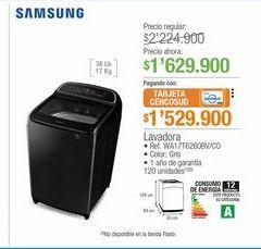 Oferta de Lavadora Samsung por $1629900