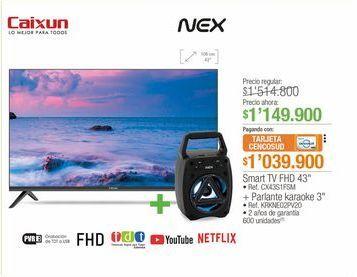 """Oferta de Smart TV FHD 43"""" por $1149900"""