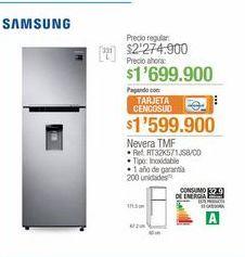 Oferta de Nevera Samsung por $1699900