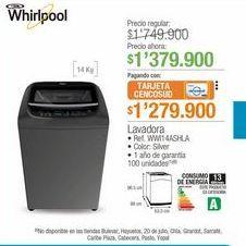Oferta de Lavadora Whirlpool por $1379900