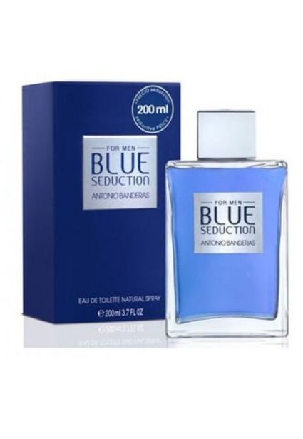 Oferta de Perfume Blue Seduction Antonio Banderas Para Hombre 200 Ml por $105900