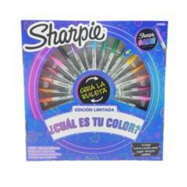 Oferta de Marcadores Sharpie Game Ruleta X 30 Uds por $84900