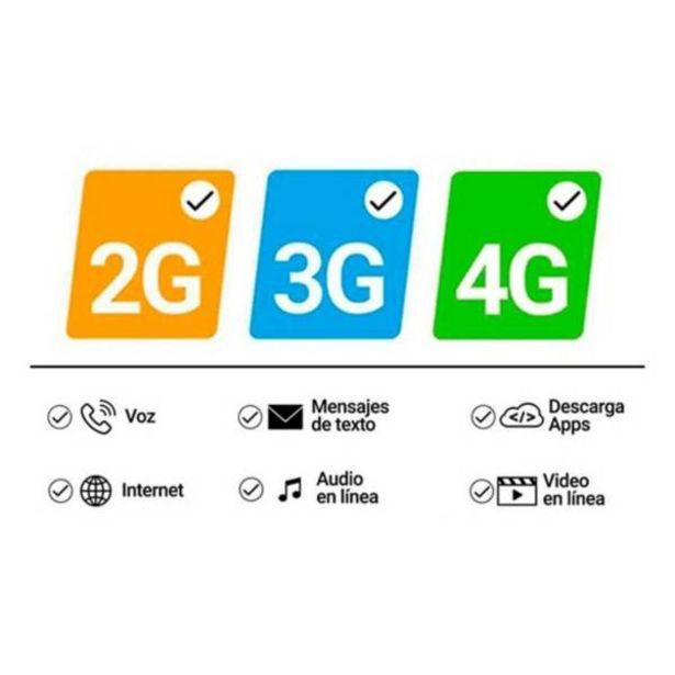 Oferta de Celular Motorola moto e7 32gb 2gb ram azul por $389900