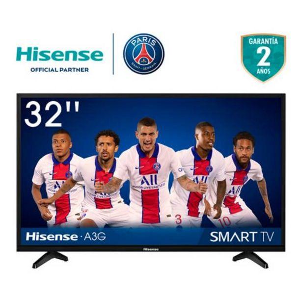 Oferta de Televisor Hisense 32 Pulgadas LED HD Smart TV por $849900