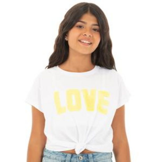 Oferta de Love Knotted T-shirt por $20,99
