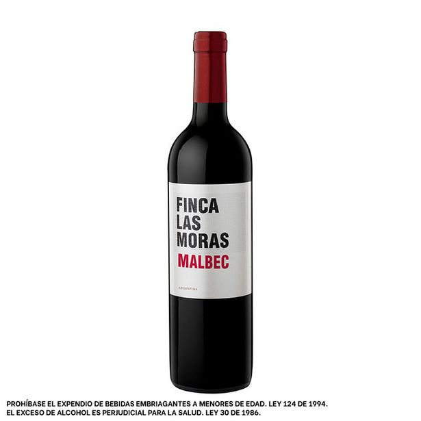 Oferta de Vino Tinto Las Moras Malbec por $38837