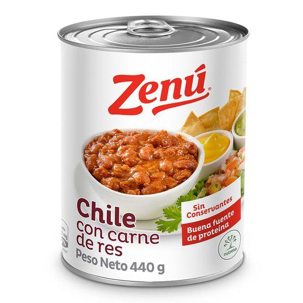 Oferta de Chile Con Carne De Res Zenú por $9190