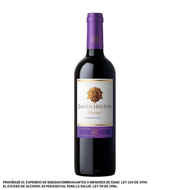 Oferta de Vino Tinto Santa Helena Varietal Carmenere por $30592