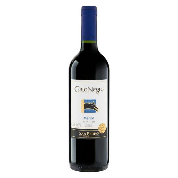 Oferta de Vino Tinto Gato Negro Merlot por $33822