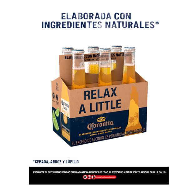 Oferta de Cerveza Coronita Extra Botella Six Pack por $11722