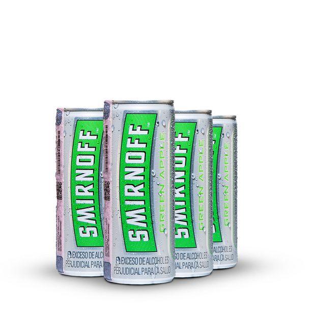 Oferta de Smirnoff Ice Green Apple Pack x 4 latas 250ml por $18692