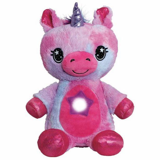 Oferta de Muñeco con Proyección de Luces Nocturnas - Star Belly Unicornio Púrpura por $149900