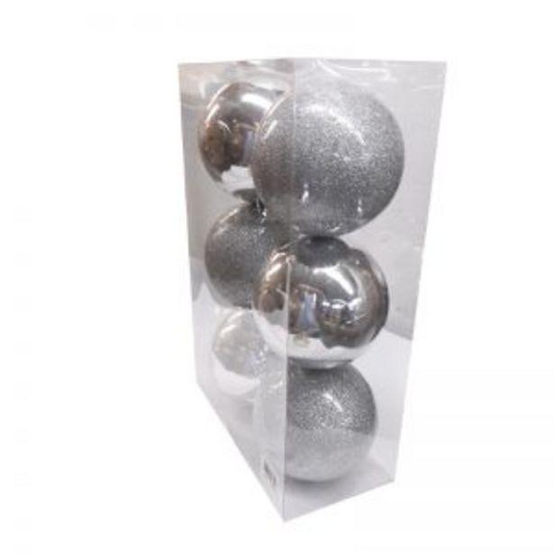 Oferta de Bola Navidad X 10cm Tubo X 6 Piezas por $20000