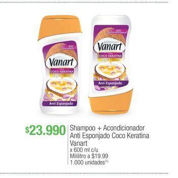 Oferta de Shampoo vanart por $23990