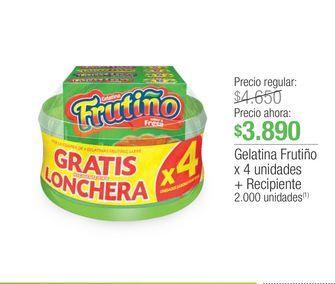 Oferta de Gelatina Frutiño por $3890