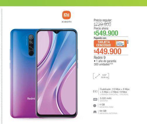 Oferta de Celulares Xiaomi por $449900